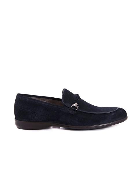 Mocassini Loafer Ayakkabı Lacivert